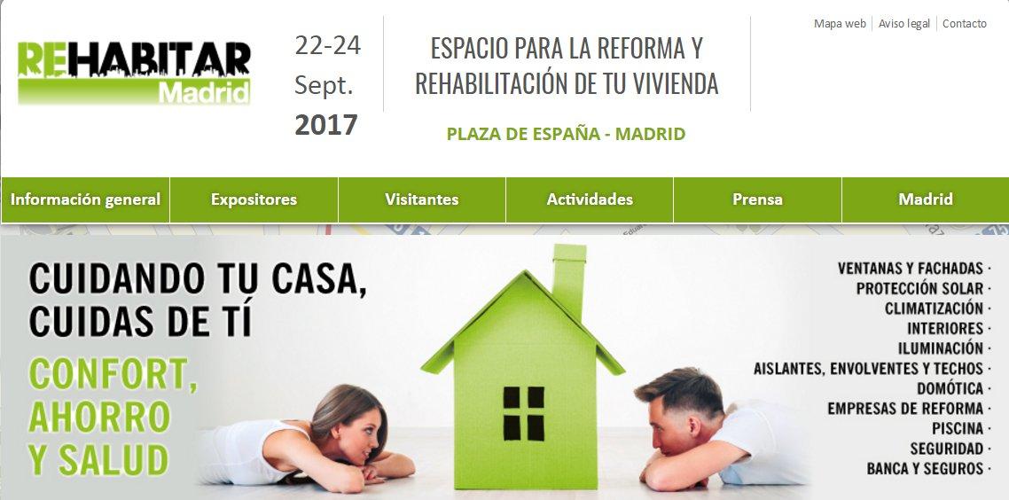 el espacio para la reforma y de viviendas se celebrar del al de septiembre