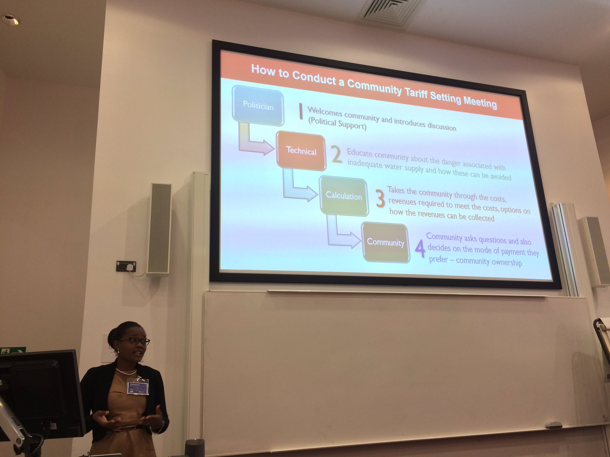 Practical guide: How to conducts a community tariff setting meeting after using  @IRCWASH Cash Flow Analysis Tool @waterforpeople #wedc40 https://t.co/pu7dUreCii