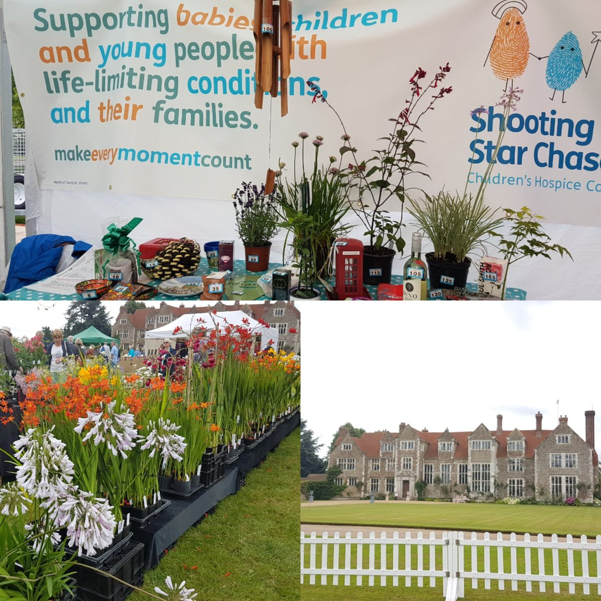 RT @Alice_CFR Lovely day at @LoseleyGdnShow at @LoseleyPark in support of @SSChospices 🌹🌺🌻🌼🌷