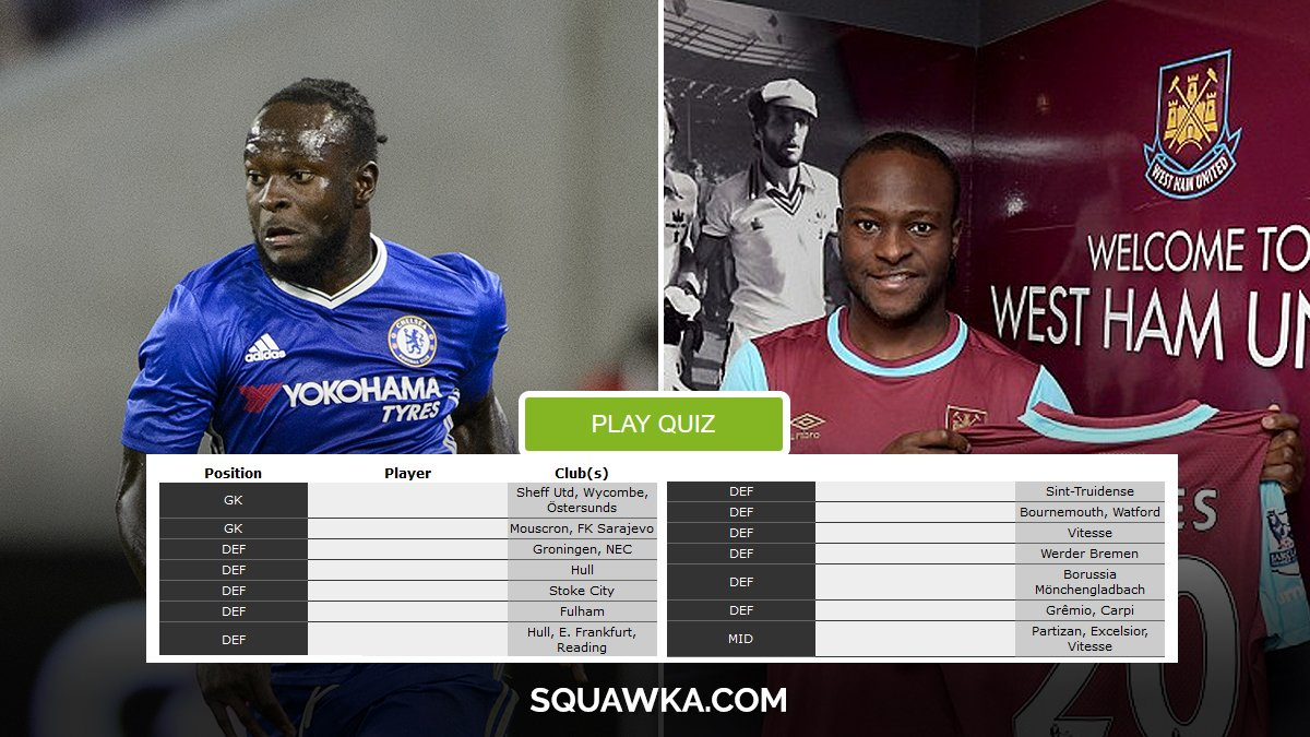 BONUS BALL QUIZ! ⬇️  Can you name every player Chelsea have loaned out in the past 3 seasons - https://t.co/OoeM6bfBwy  Game of Loans. 🤷♂️
