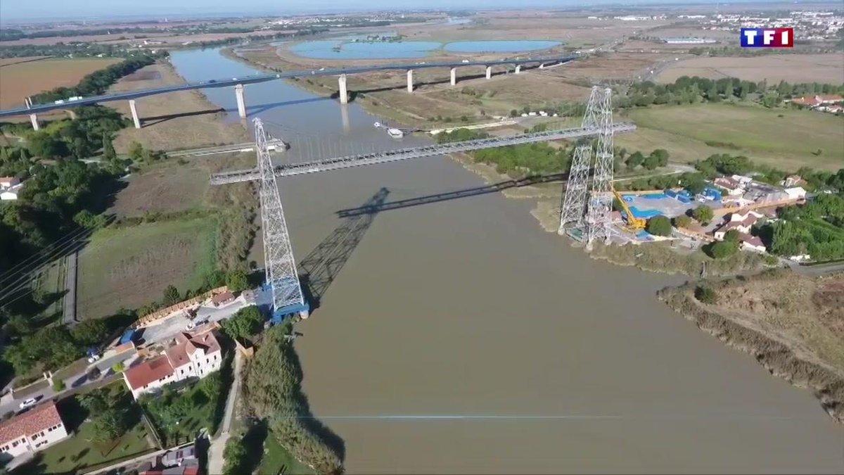 Le dernier pont transbordeur de France s'offre une nouvelle jeunesse https://t.co/9S5hGKj6kb
