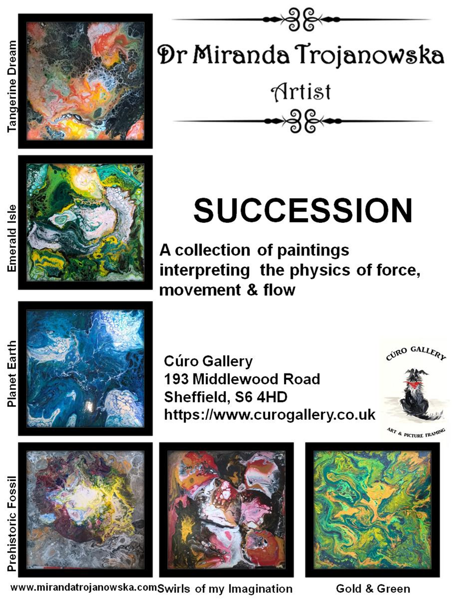 !!EXCITING NEWS!! - my &quot;SUCCESSION EXHIBITION&quot; is starting next week @ Curo Gallery Sheffield #contemporaryart #artsheffield #yorkshirebiz<br>http://pic.twitter.com/zA5mZbMr8m