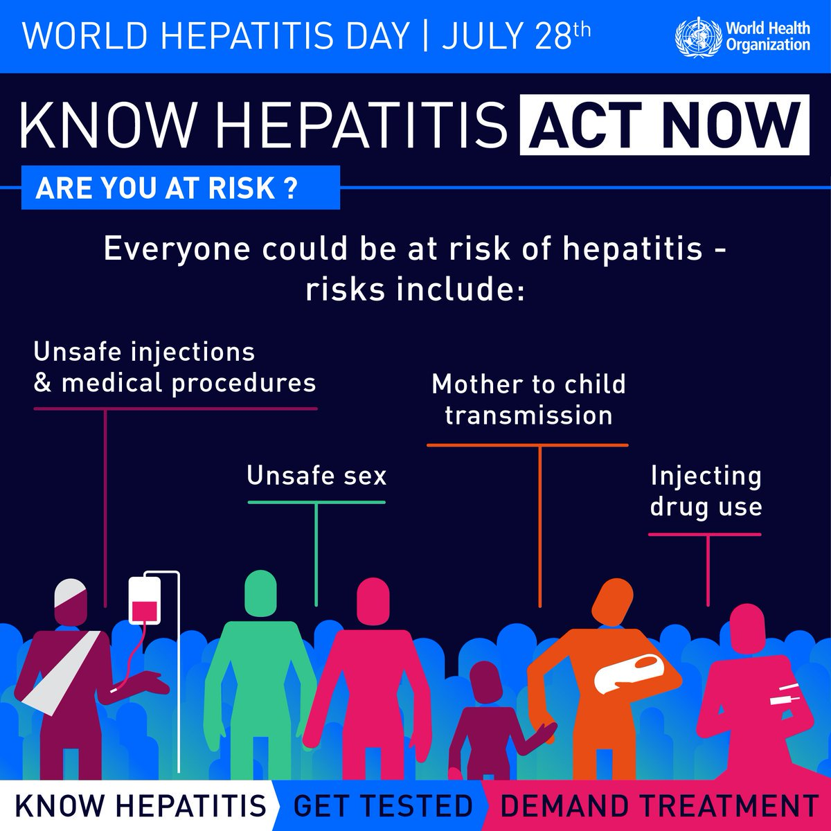 Know #hepatitis. Are you at risk?  https://t.co/teR2JO5edc