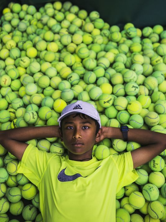 If Kartik Mandla's dad had never emigrated to the US, chances are he'd be perfecting his cricket game, not tennis https://t.co/EJExXVPGVI