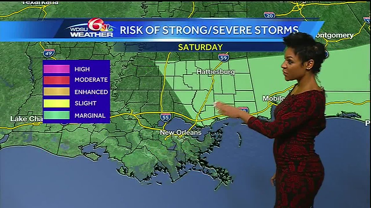 Friday AM Videocast: Cool front brings storms Saturday: https://t.co/4Nbr13Rtuo