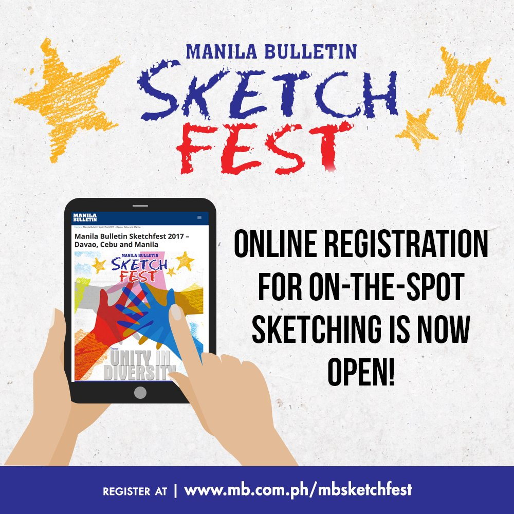 Online registration for on-the-spot sketching is now open! Head to https://t.co/CP74IOoz43 #MBSketchfest