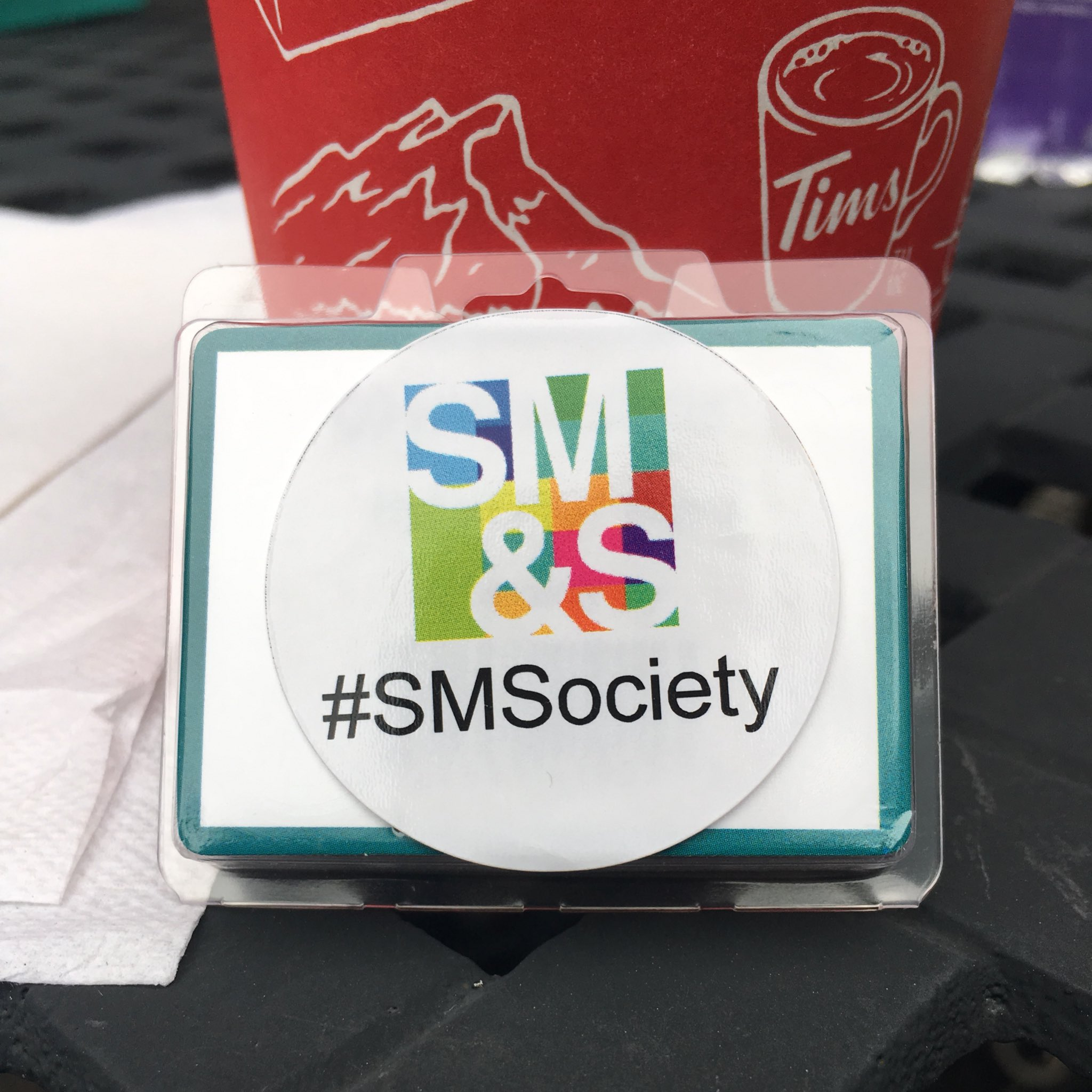 Opened the bag and found the surprise but not revealing it for others 😉 #SMSociety #awesome https://t.co/rGwzu3XzB8