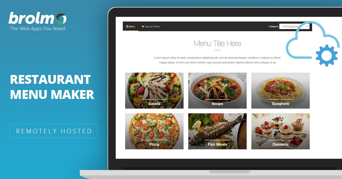 stivasoft on twitter create a mouth watering menu on your website
