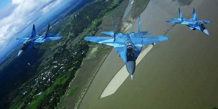 المقاتله العريقه Mig-29 Fulcrum  DF0xR1QWsAMfeoV