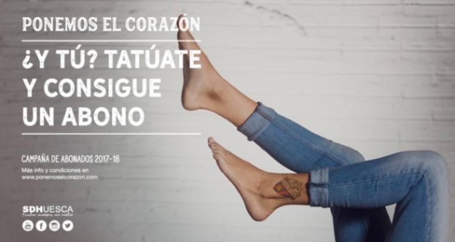 Teria coragem? Time espanhol dá ingressos para quem fizer tatuagem alusiva ao clube https://t.co/SlYyK9o5ts