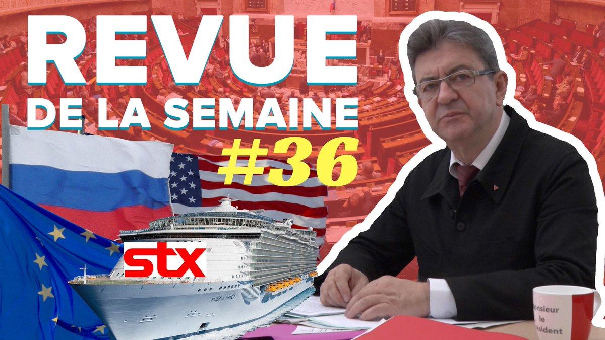 #RDLS36 en ligne ! Thèmes : sanctions contre la #Russie, nationalisation de #STX, Jaurès, incidents à l'Assemblée. ➡️https://t.co/Cqcl9HqOZY