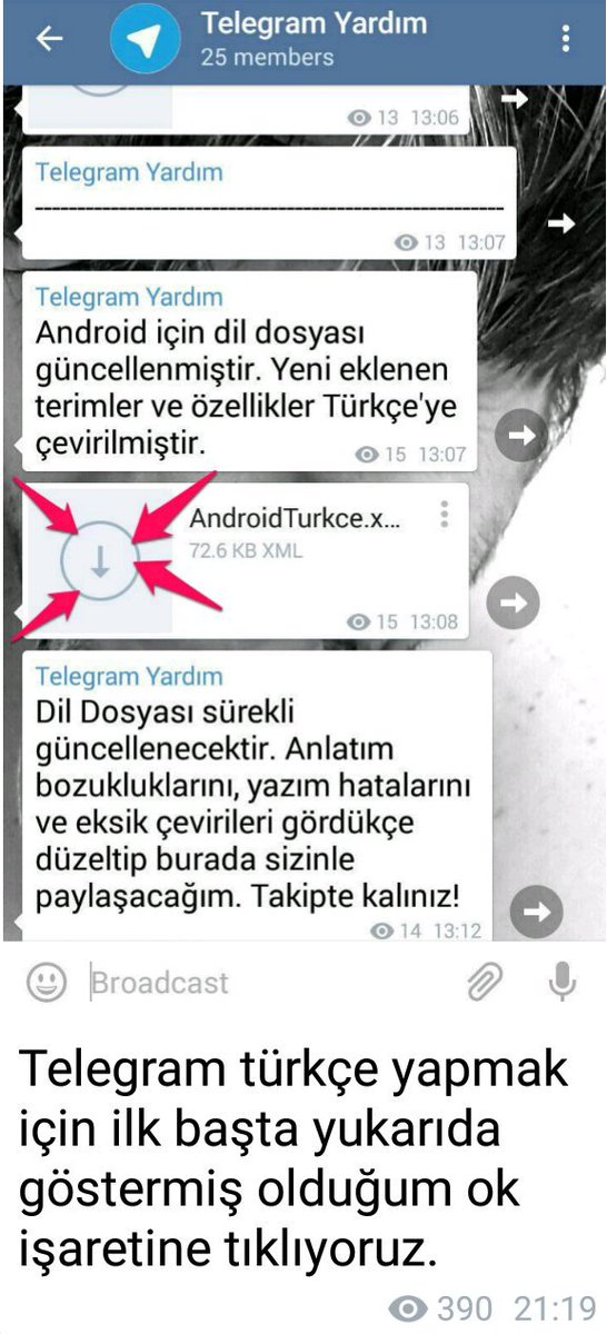 turkce telegram kanallari