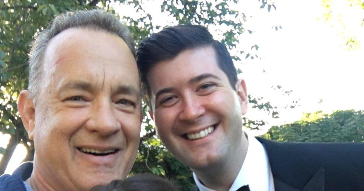 Tom Hanks, Ed Sheeran, and 10 other celebrity wedding crashers: https://t.co/hNsCi1PsHP