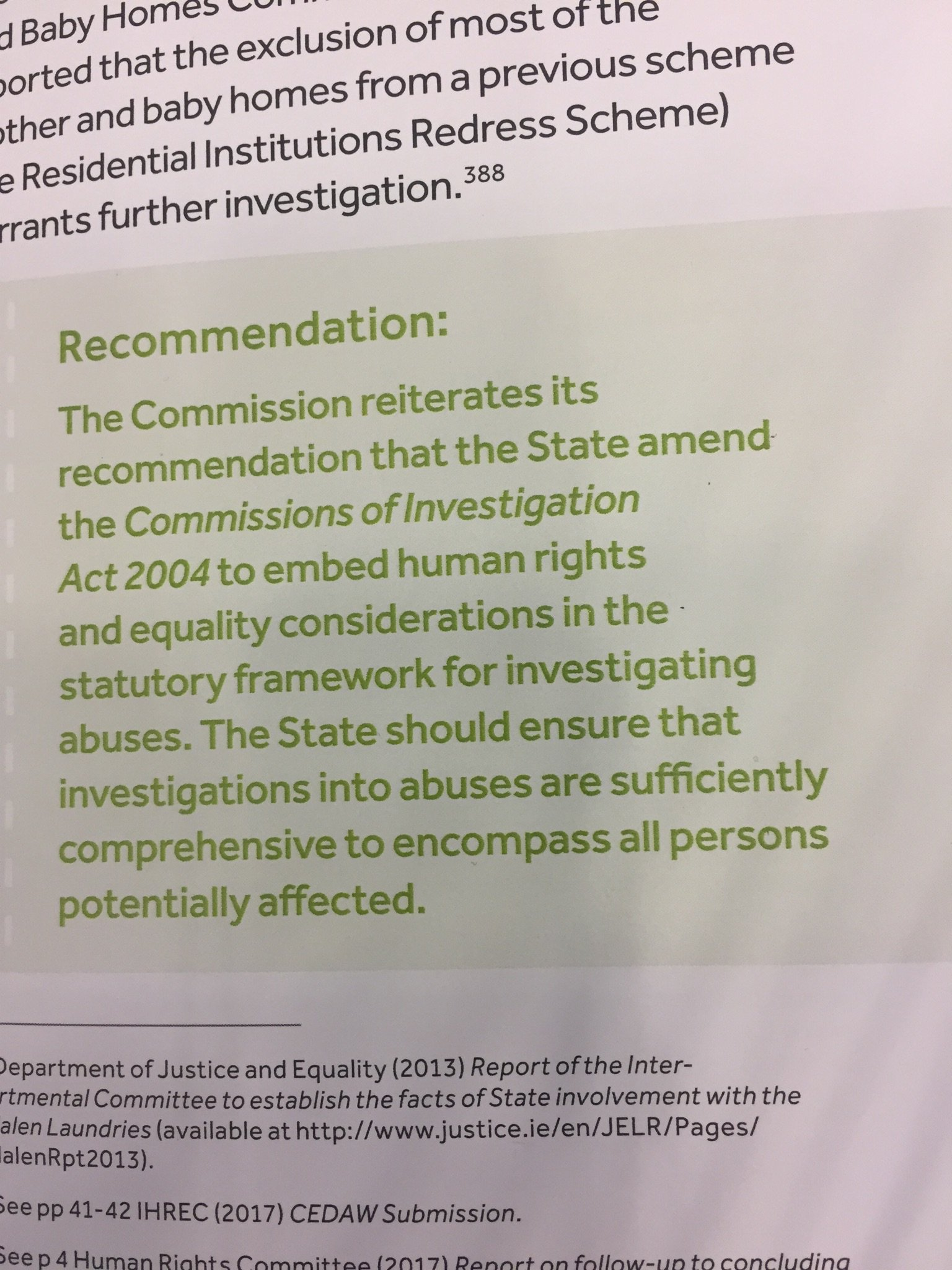 .@_IHREC has made a specific recommendation on amending the 2004 Commission of Investigation Act #uncat #uncat61 https://t.co/NyEevBwyTP