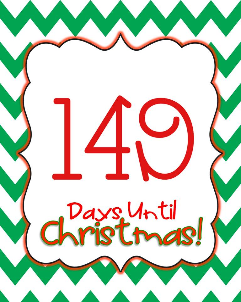 Countdown Till Christmas.Your Christmas Countdown On Twitter 149 Days Until