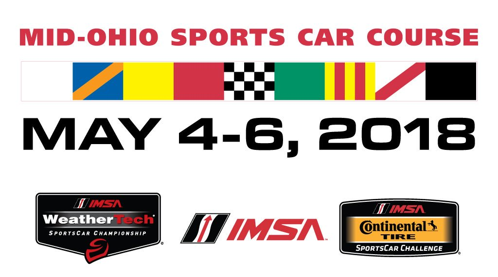 ANNOUNCING: @IMSA will return to Mid-Ohio, May 4-6th, 2018! Read more: https://t.co/kKb6gQb1LR https://t.co/frBtXyzS9s