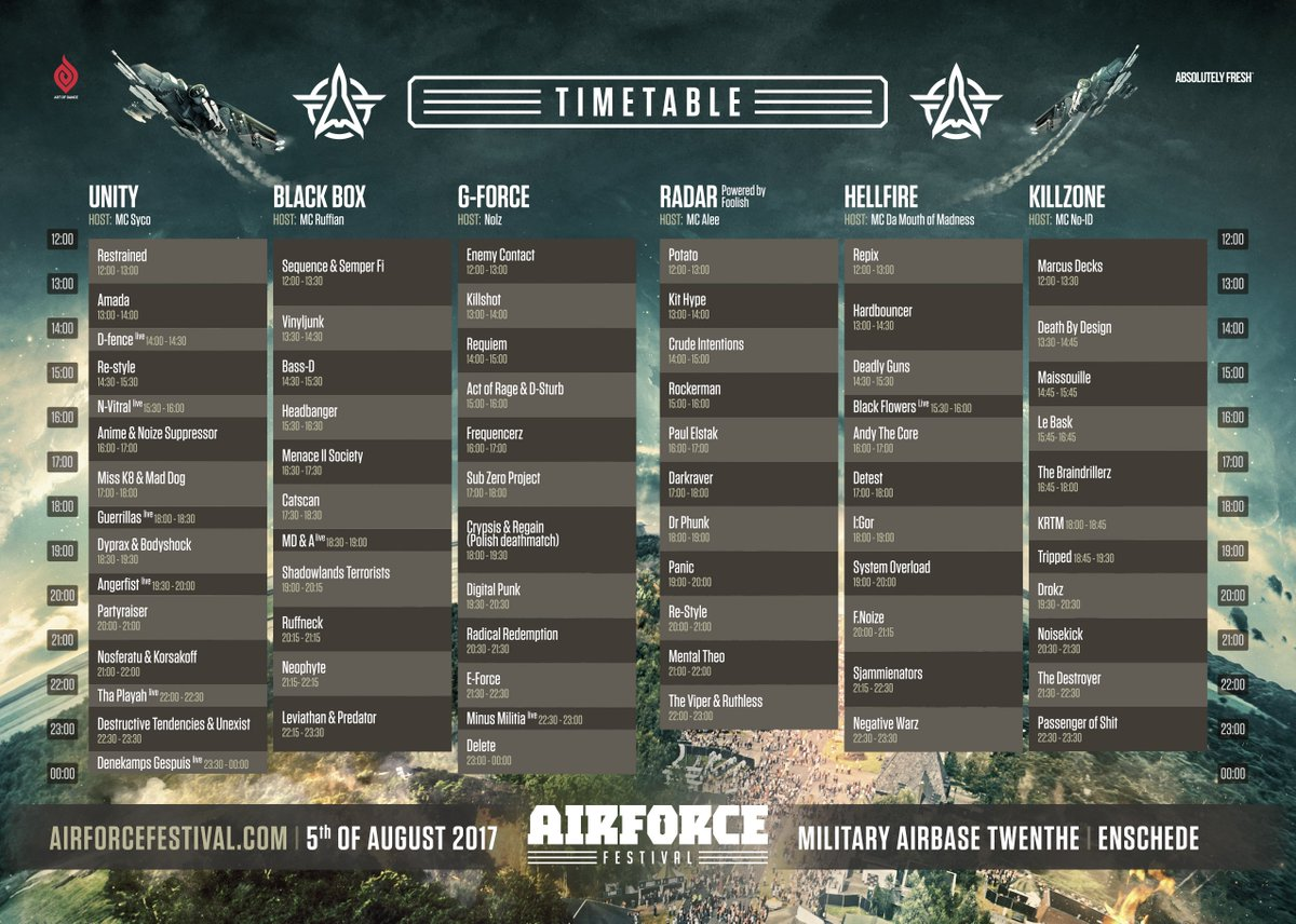 AIRFORCE Festival on Twitter: