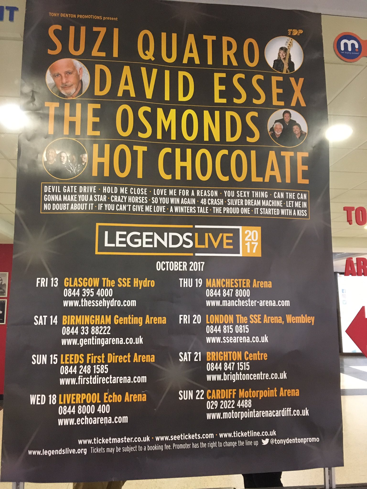 Jimmy Osmond On Twitter Only 2 More Days In Cardiff Thank