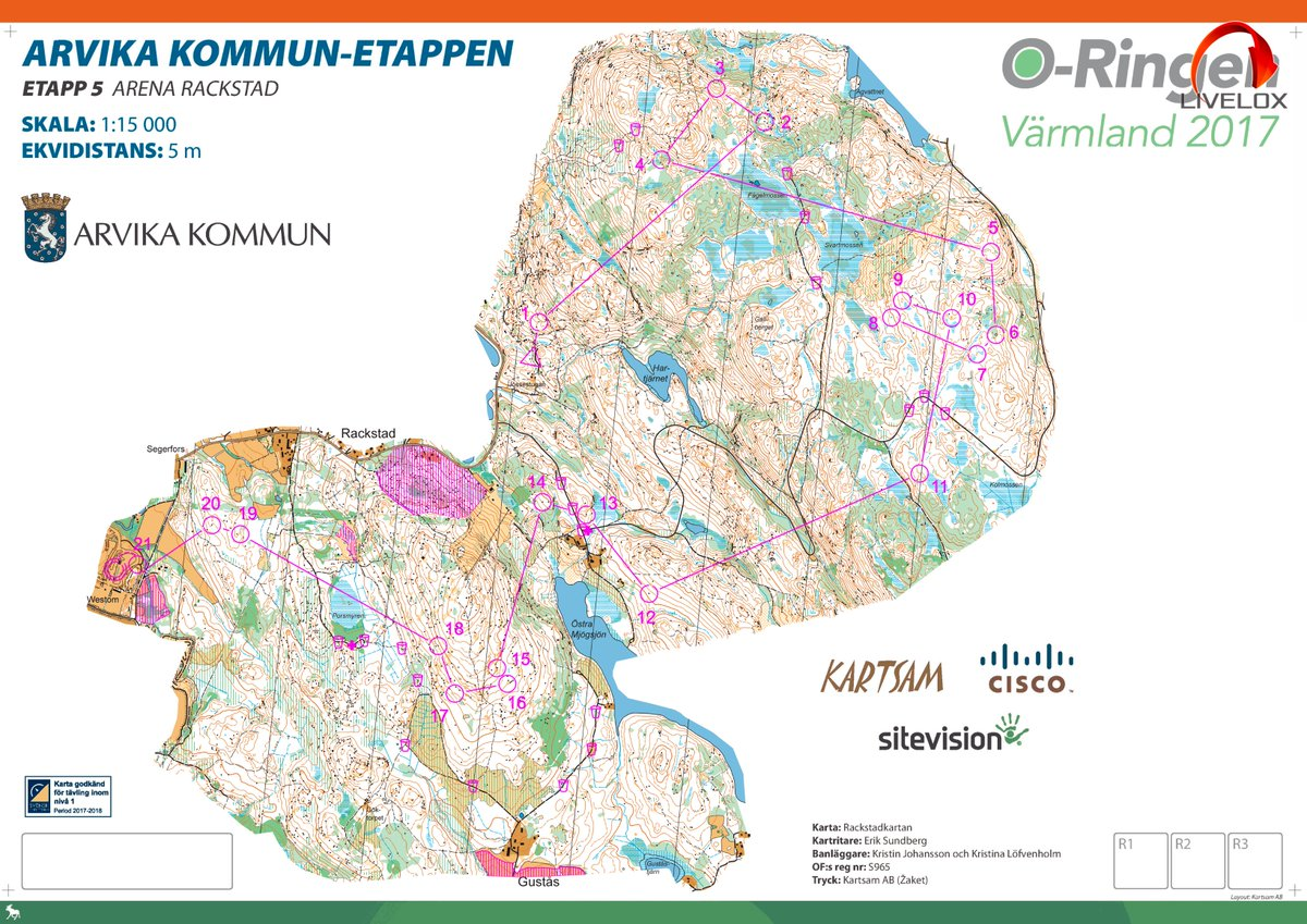 Karta Arvika Kommun.Oystein K Osterbo On Twitter 20th Overall In O Ringen After A