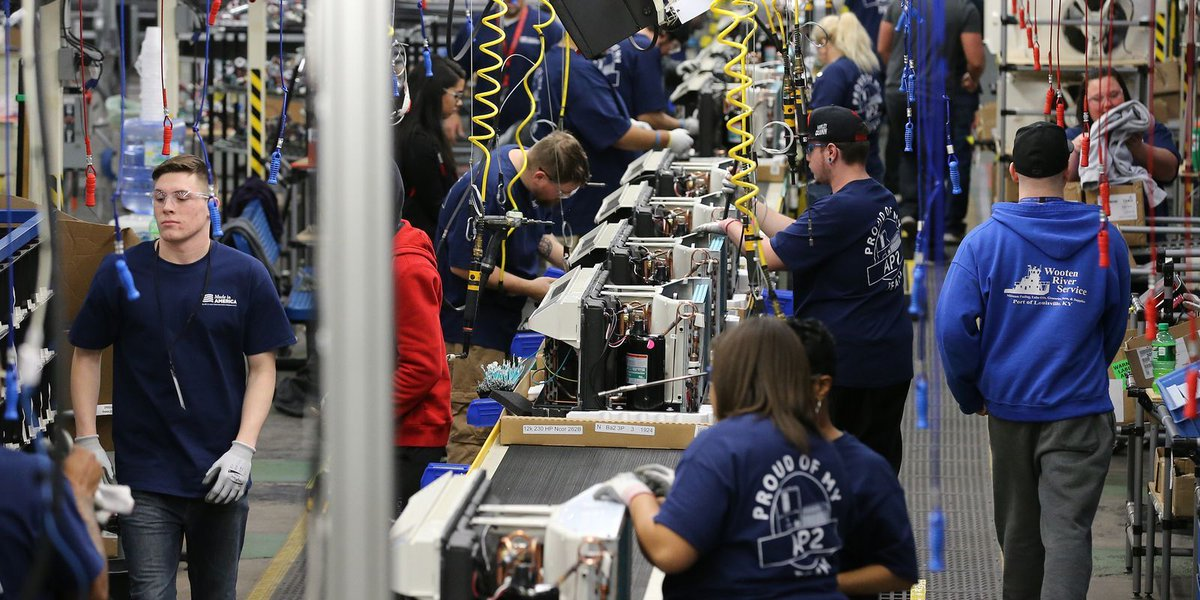 Haier pulling Zoneline work from GE Appliance Park, displacing 140 employees https://t.co/ZuJpbGxrvV