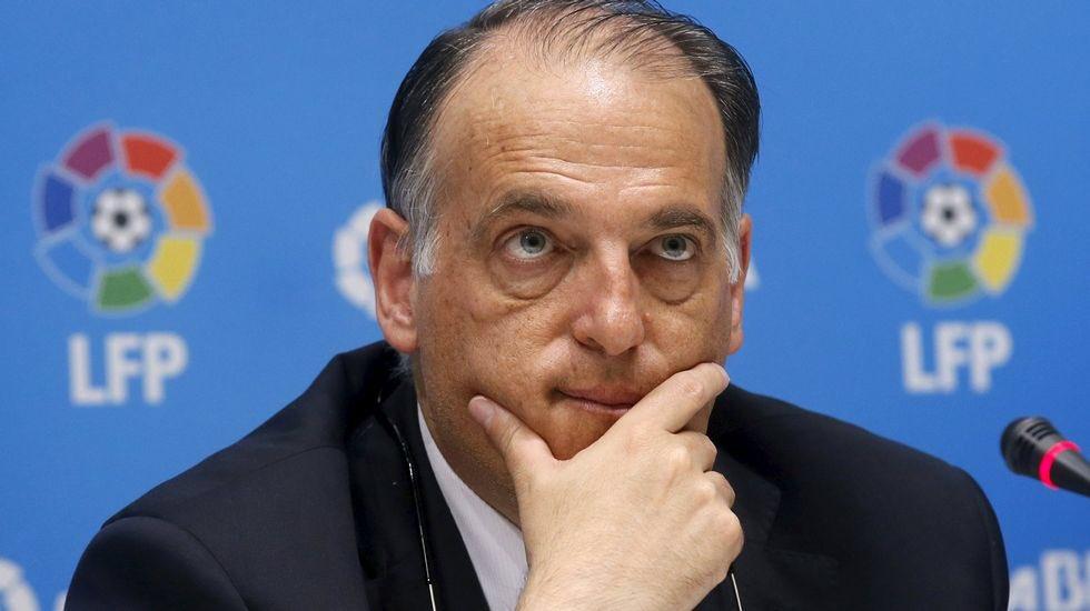[#Décla💬] Javier Tebas (président de la Liga 🇪🇸) : 'La Liga va dénoncer le PSG pour avoir violé le fair-play financier'