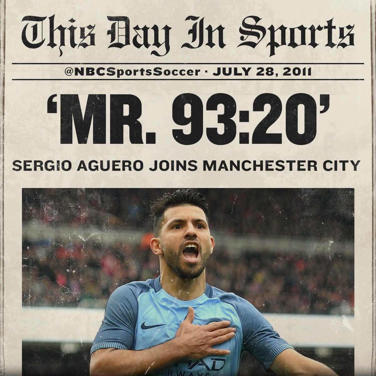 #OnThisDay in 2011, @aguerosergiokun signed for @ManCity!