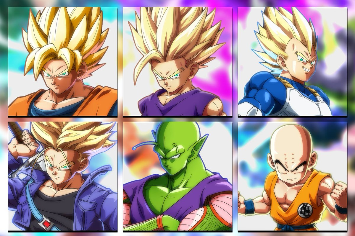 Which of these fighters will you choose first when #DragonBallFighterZ comes out? Reply and let us know!