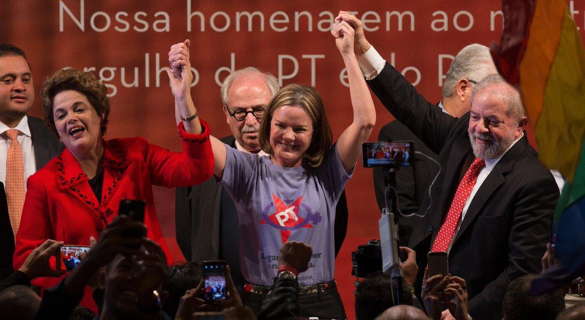 Dilma presta depoimento em ação da Lava Jato contra Gleisi e Paulo Bernardo → https://t.co/ZN2ogq94PZ