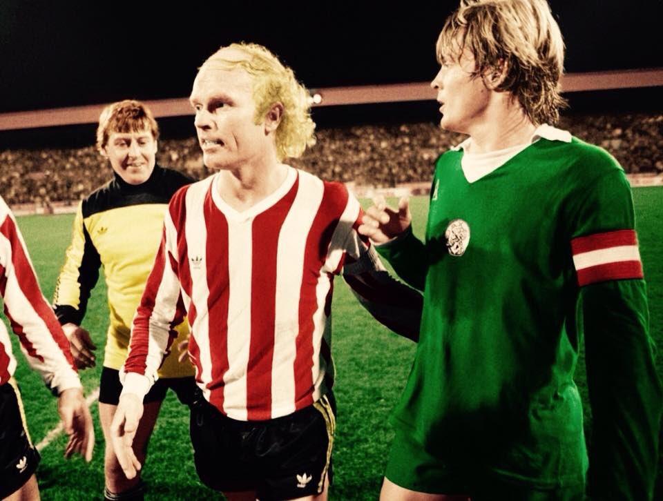 #PSVEindhoven v #Ajax;  Goalkeeper #PietSchrijvers #RuudGeels and #SørenLerby #psvaja #Geels<br>http://pic.twitter.com/BcJz3wF8Hl