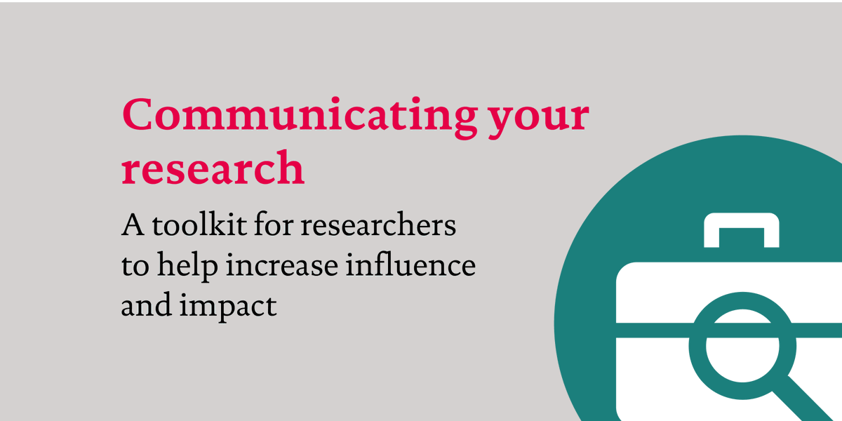 Today we launch a new toolkit for #researchers in heath and health care. Download it now: https://t.co/4Cv8EzMyHW https://t.co/G9Xu3IqMeX
