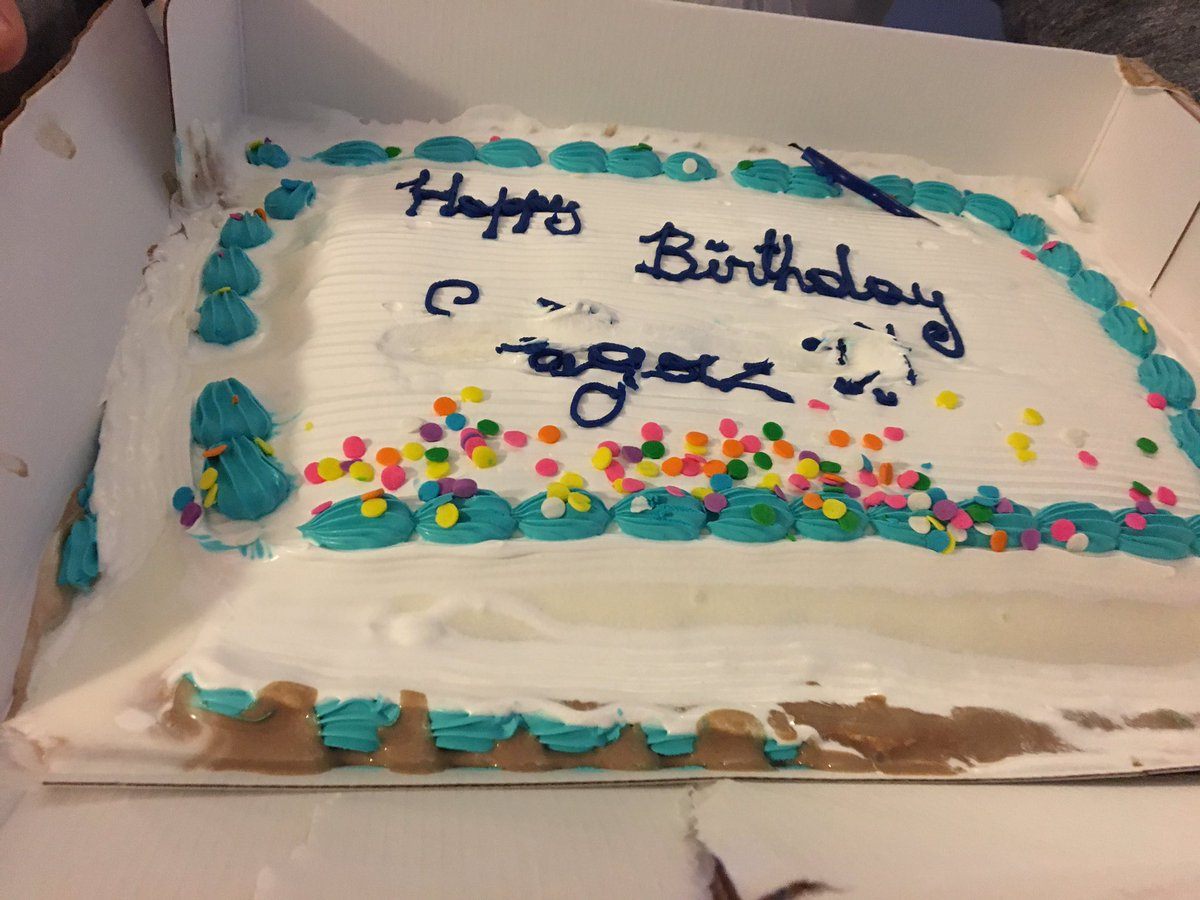 Matt Brand On Twitter Who Gets Ice Cream Cake Anyway What Is He 5 Years Old Oh Well Happy 50th Stu Lets Clean Up Americas Highways