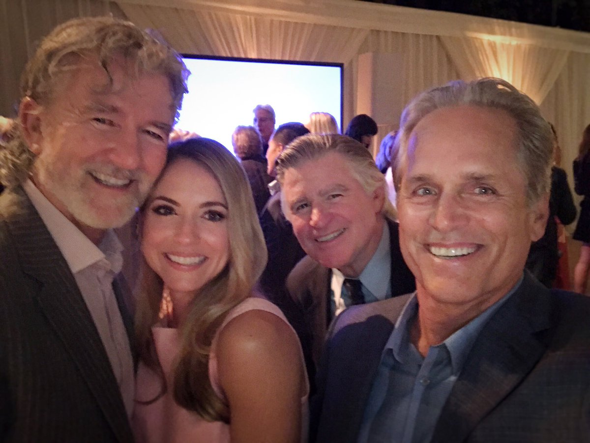 Me & my three TV Dads! My fave moment at last night's @hallmarkchannel summer #TCA17! #reunion https://t.co/Puwq7k66Jb