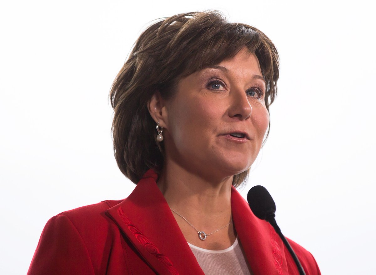 BREAKING NEWS: Christy Clark is resigning as leader of the B.C. Liberal Party effective Aug. 4 #bcpoli