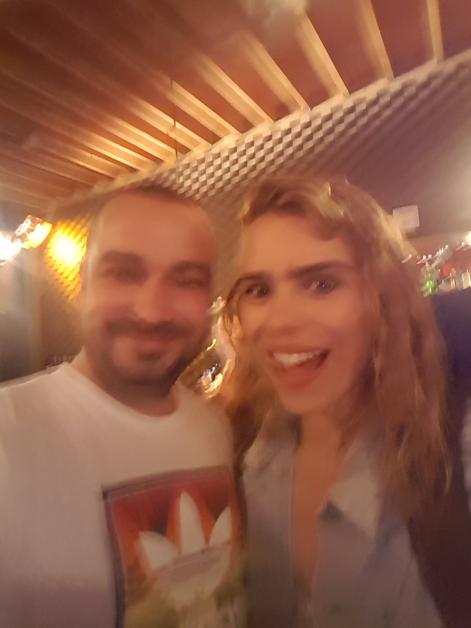 @billiepiper thank you for the blurry photo! You're an incredible actress. That was one of the best nights of my life #Yerma #ShakeyHands https://t.co/zkgM1Drhmp