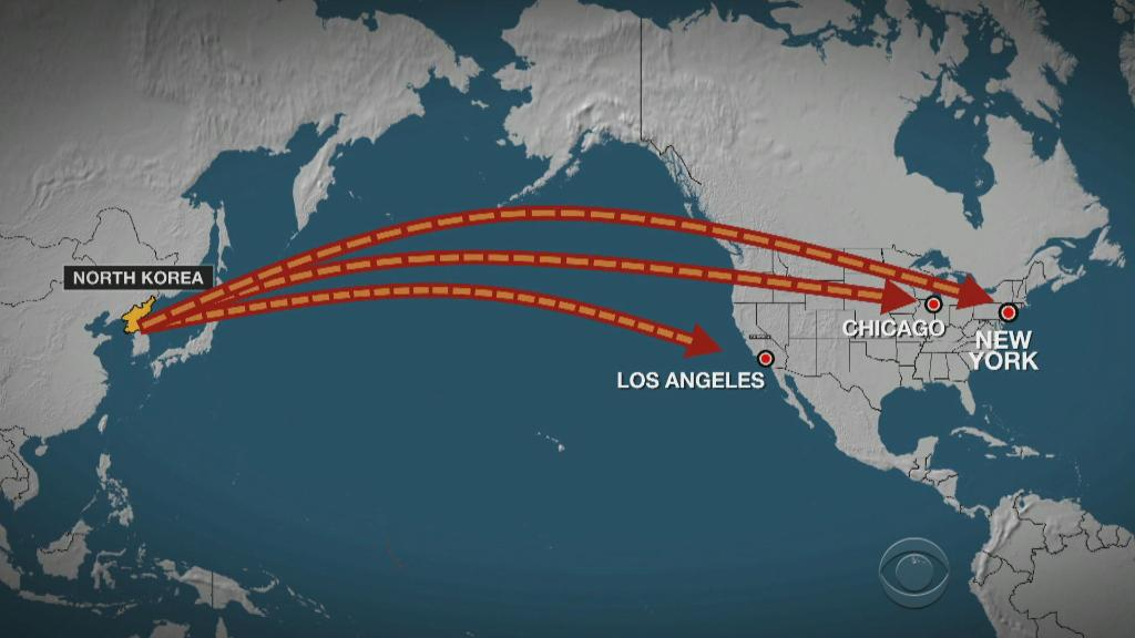 North Korea tests missile that could threaten Los Angeles, Chicago or New York https://t.co/AjdF1YponO
