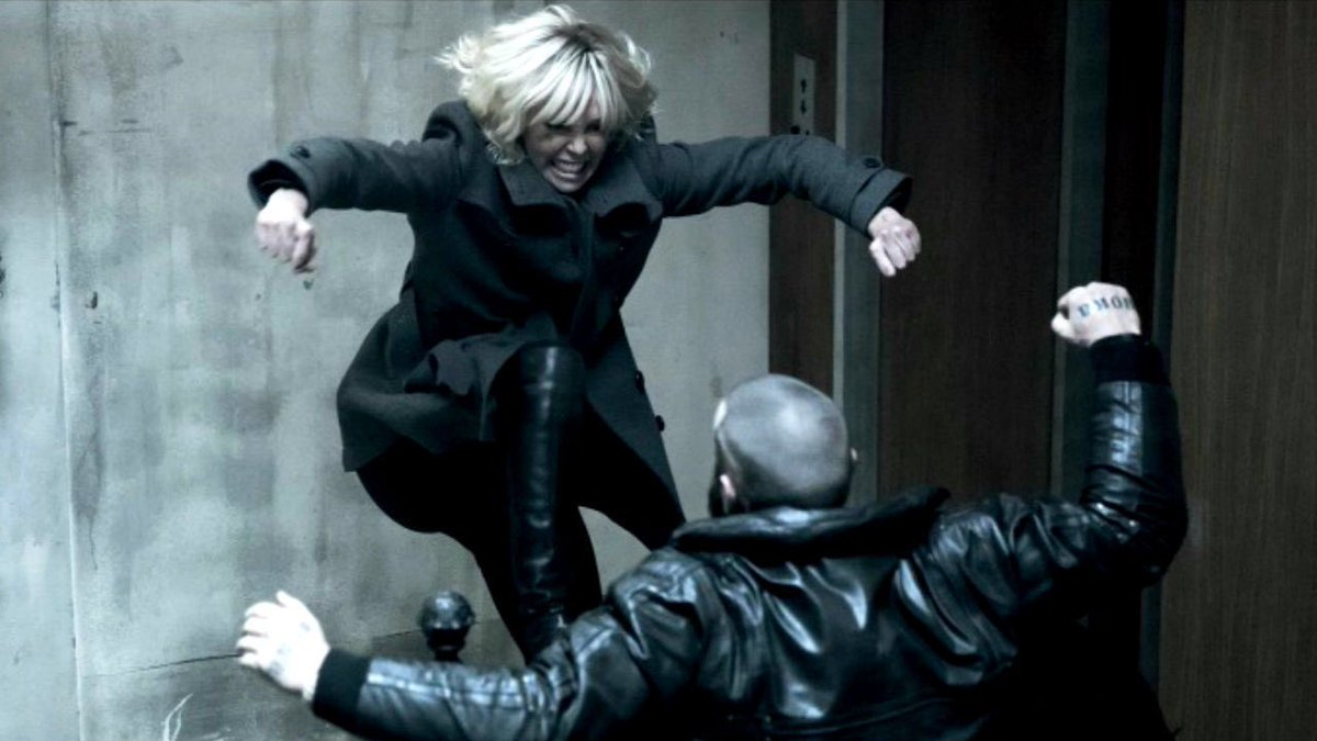 That feeling when @atomic_blonde is finally in theaters. Who's seeing it this weekend?? #AtomicBlonde