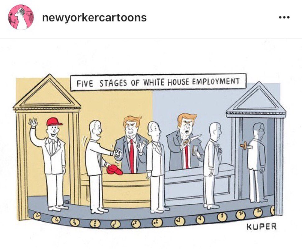 The distinction between New Yorker cartoon and reality has never been so blurred. #Priebus https://t.co/sX5NdWMJSX