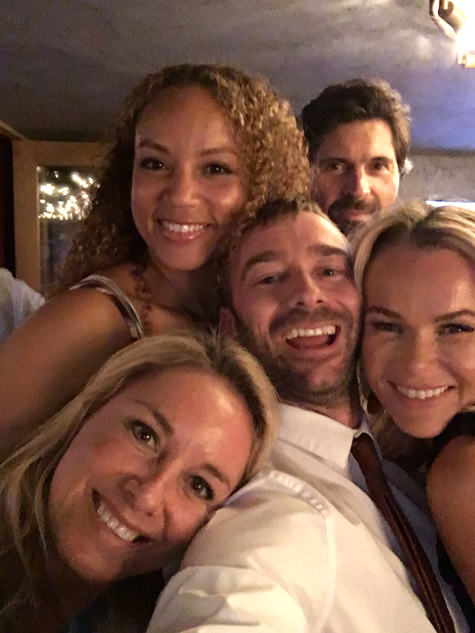 RT @Charliecondou: Out out @Angela_Griffin @AmandaHolden @mouthwaite @jaseewasee https://t.co/rOy8y9Zhxw