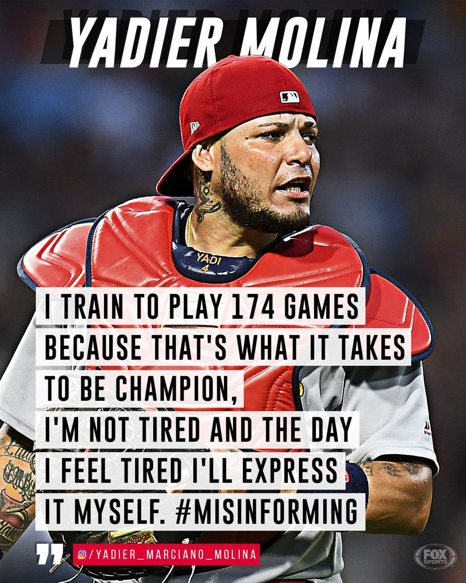 Image result for photos of a tired Yadier Molina