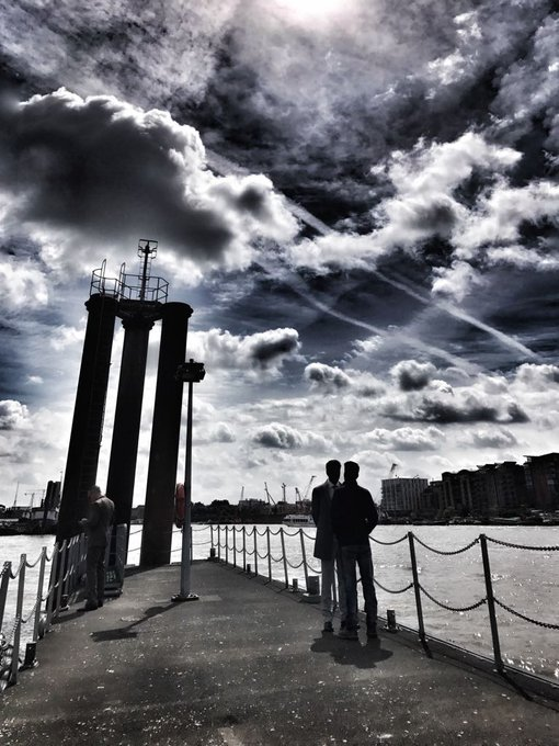 #AIYAARY WITH CLOUDS IN LONDON. @_AdilHussain @PlanC_Studios @FFW_Official https://t.co/NltuVe2pty