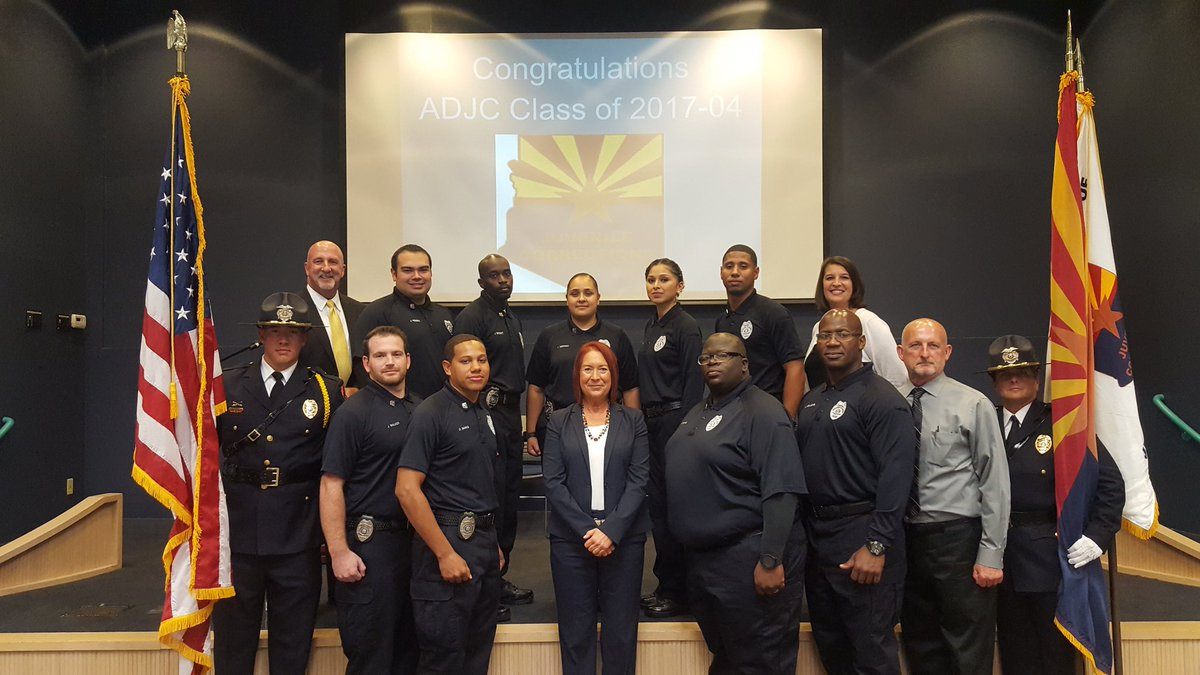 newest group to graduate from the academy and start new career as a juvenile corrections officer httpstcown6aovaoki