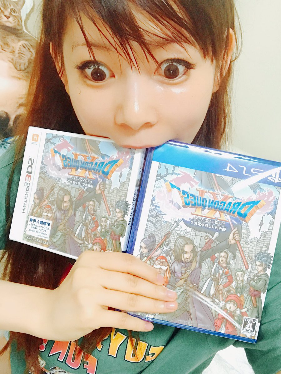 ドラクエの新作!ドラクエⅪの発売に発狂する中川翔子さんが可愛すぎるww