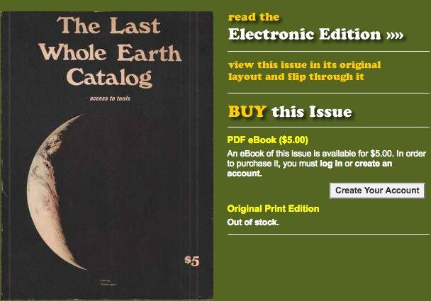Whole Earth Catalog Pdf
