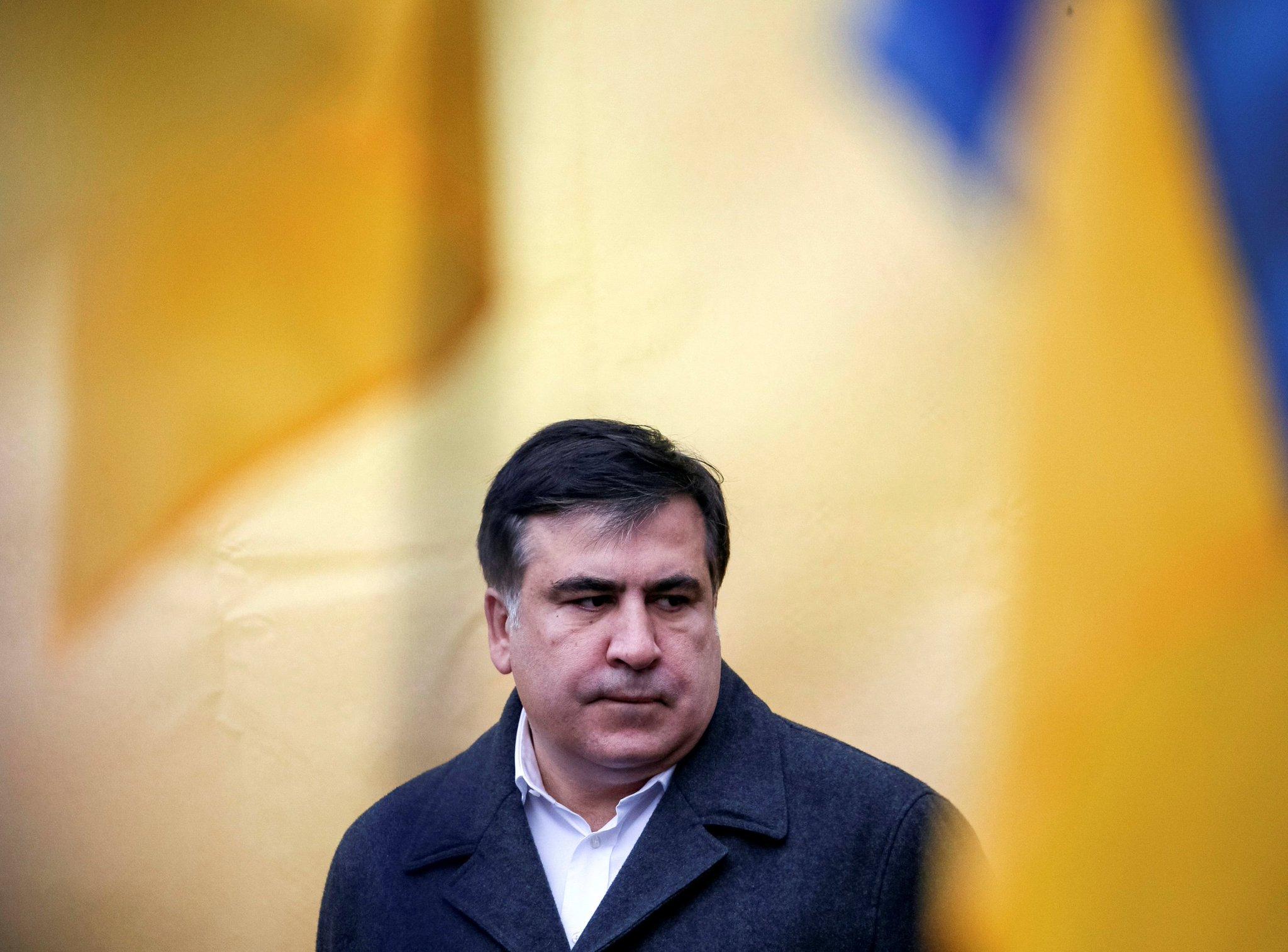 Саакашвили снова задержали