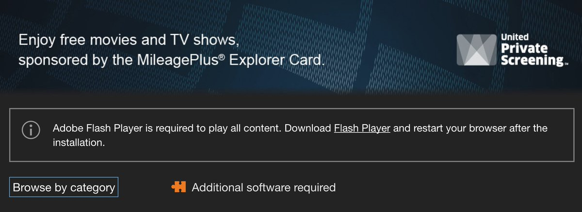 Adobe flash player download possible for older pc or mac.