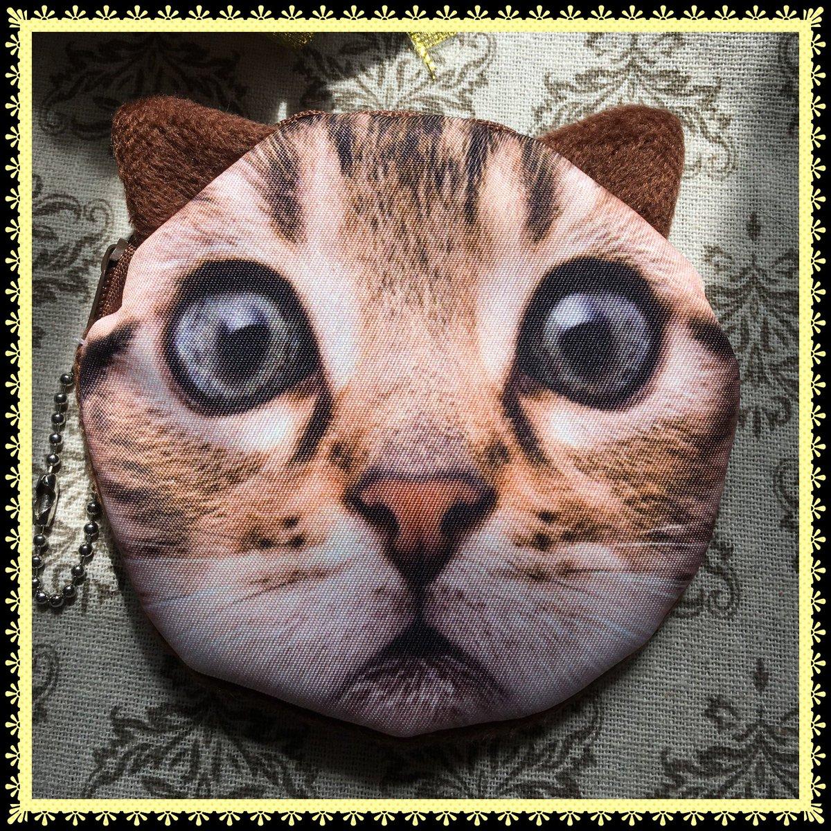 test ツイッターメディア - こんなに可愛い??のに、100円???信じられない???? #猫 #ねこグッズ #コインパース #100均一 #キャンドゥ https://t.co/WjkEmZEkxk
