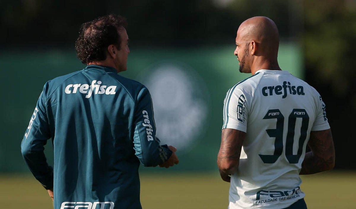 Cuca decide afastar Felipe Melo do jogo contra o Avaí por estar tumultuando o ambiente https://t.co/xGTeWJP9JB