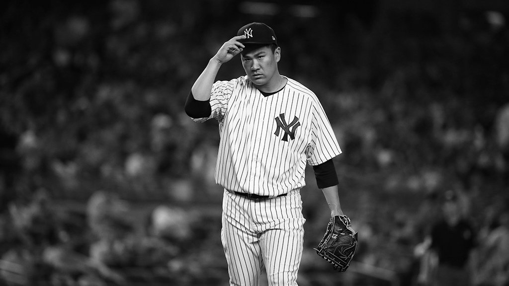 Hat tip to Tanaka on a brilliant night.  His final line: 8 IP, 2 H, 1 R, 0 BB, 14 K. ������ https://t.co/FxWdnrKvdK