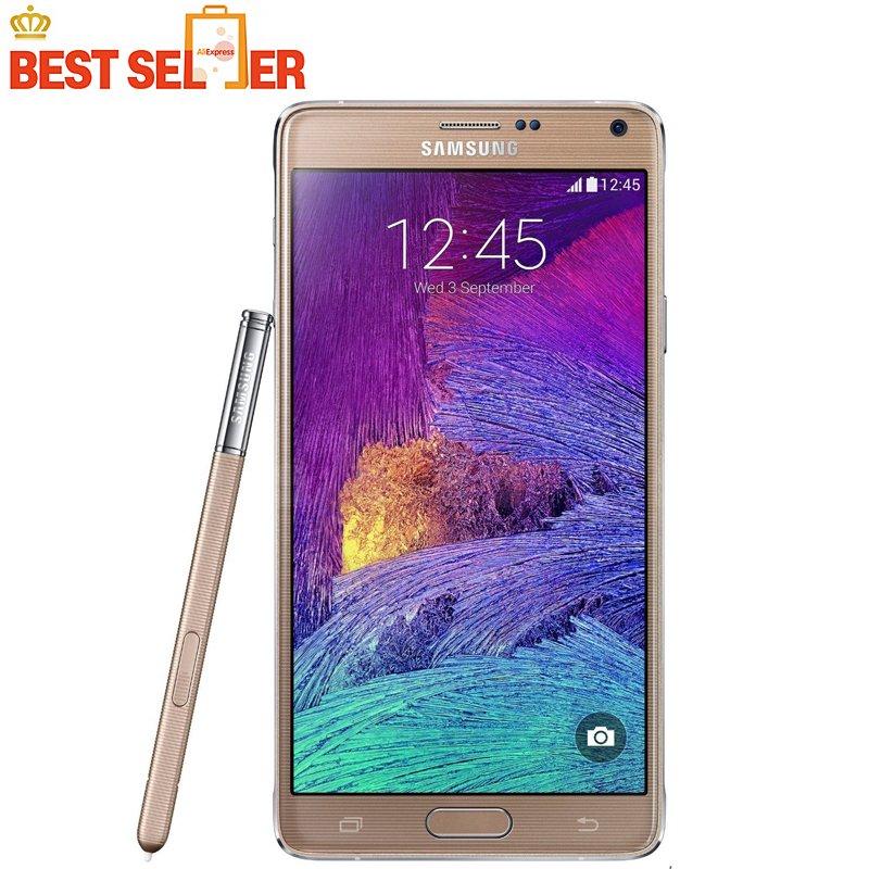 #hashtag2 Note 4 Original Unlocked Samsung Galaxy Note 4 N910A N910F N910P LT...