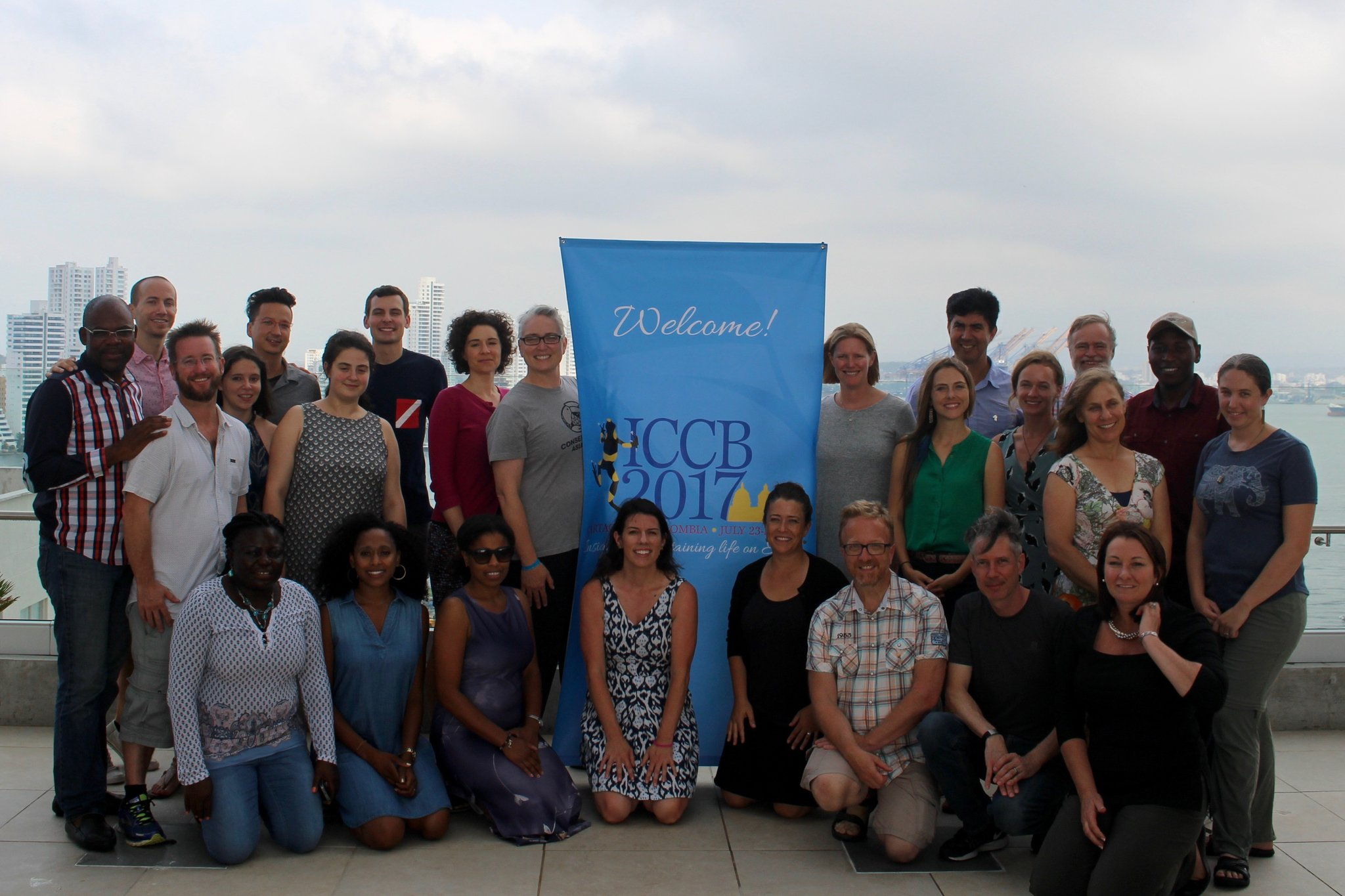 @Society4ConBio , Board and staff joining forces for the future after #ICCB2017 . Great, really great future, SCB first, it will be great! https://t.co/Yn8Q3WxeFl